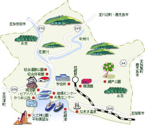 観光マップ - 枕崎市ホームページ